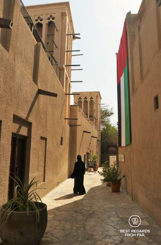 Al Fahidi district, Dubai, UAE