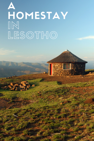 A homestay in Lesotho - Pin