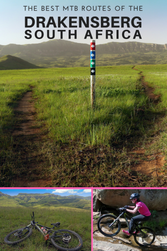 Best of Drakensberg mtb - Pin