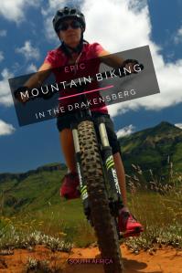 Mountain biking Drakensberg - Pin