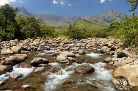 The amphitheatre, Northern Drakensberg, South Africa