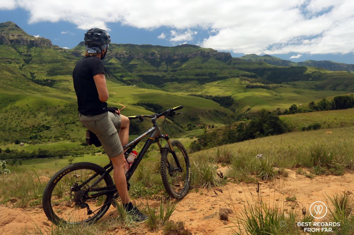 Epic mountain biking in the Northern Drakensberg, South Africa