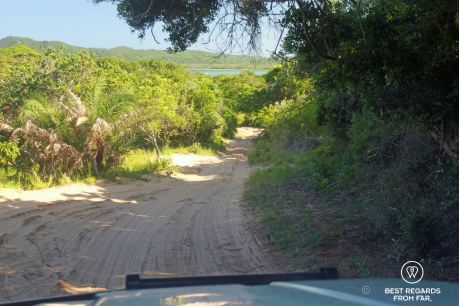 On our way to Black Rock Beach, Kosi Bay, South Africa