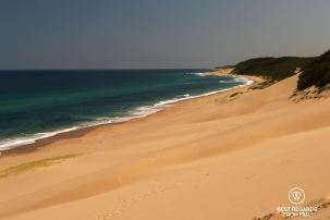Unspoilt beaches and turtle nesting area, Kosi Bay, South Africa