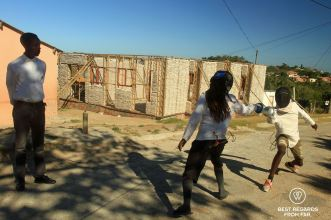 Fencing at Nemato, Change a Life, Port Alfred, South Africa