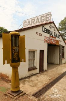 The first and only garage in Pilgrim's Rest, South Africa