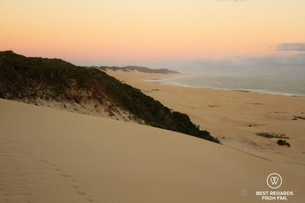Port Alfred's beach at sunset, South Africa