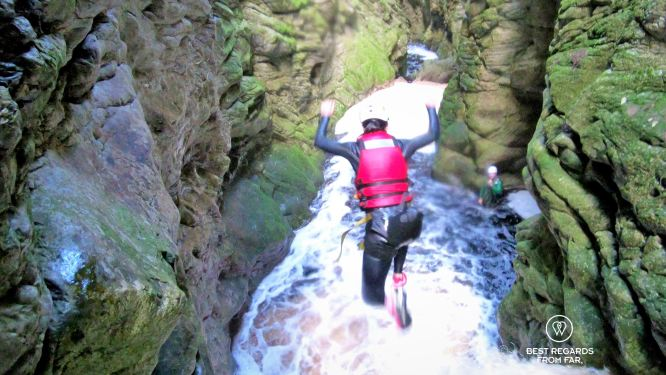No way back! Canyoning George, South Africa