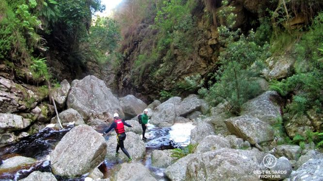 Canyoning George, South Africa