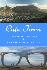 Cape Town Walking tour - Pinterest Pin