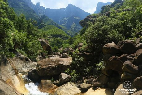 Tugela gorge, Drakensberg, South Africa 2