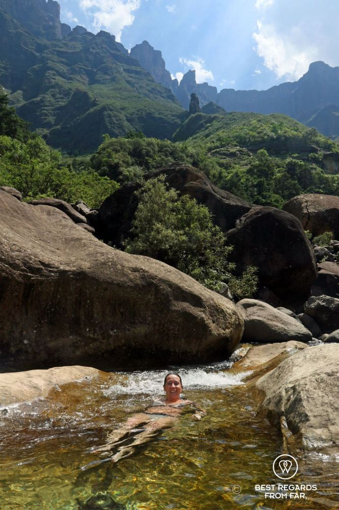 Tugela gorge, Drakensberg, South Africa 3