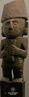 Antropomorphic figure, Peru (1200), Museo de las Americas, Madrid, Spain