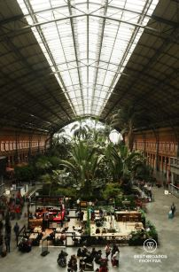 Atocha train station, Madrid, Spain