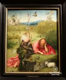 Meditations of Saint John the Baptist by Bosch, 1495, Museo Lazaro Galdiano, Madrid, Spain