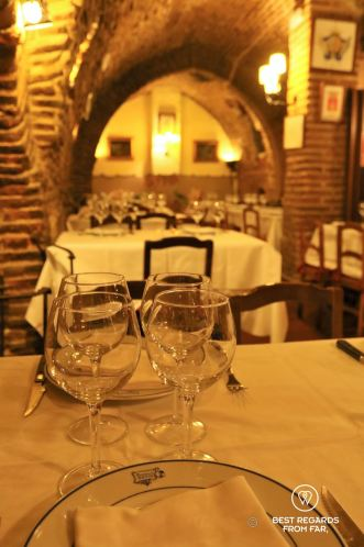 One of the 4 levels at Botin, world's oldest operational restaurant since 1725, Madrid