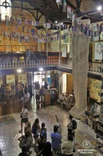 Noor Ebrahim giving a tour through the District Six Museum, Cape Town, South Africa