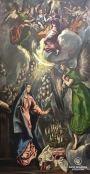 El Greco, The anunciation, 1600, Museo del Prado, Madrid, Spain