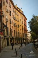 The old Calle Cuchilleros, Madrid