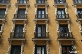 Typical façade, Madrid