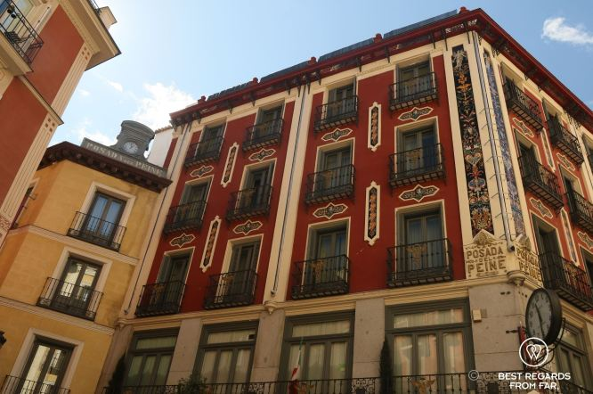 Madrid's oldest hotel, Posada del Peine