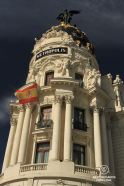 The Metropolis building, Madrid