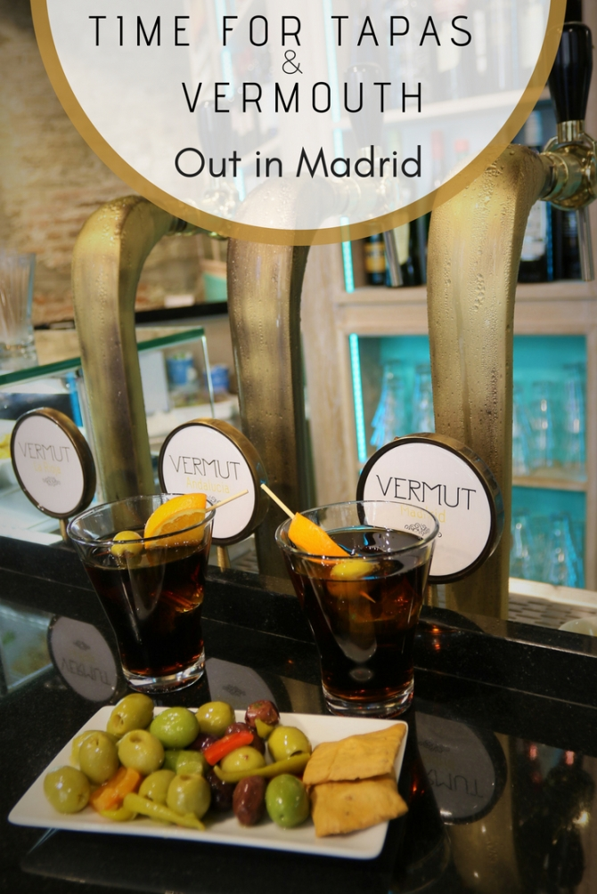 Tapas and Vermouth - Pinterest - Pin - Madrid - Spain