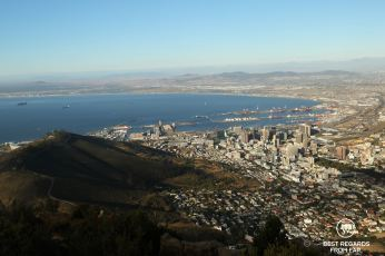 Cape Town from Lion's Head, South Africa