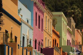 Colourful Bo-Kaap, Cape Town, South Africa