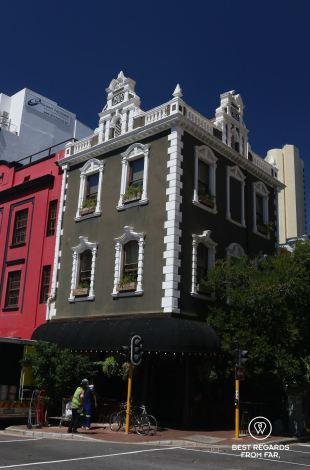 Historical buildings of Cape Town, South Africa