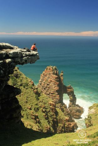 Cathedral Rock, Wild Coast hike, South Africa