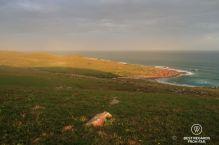 Sunset in Mtentu, Wild Coast hike, South Africa