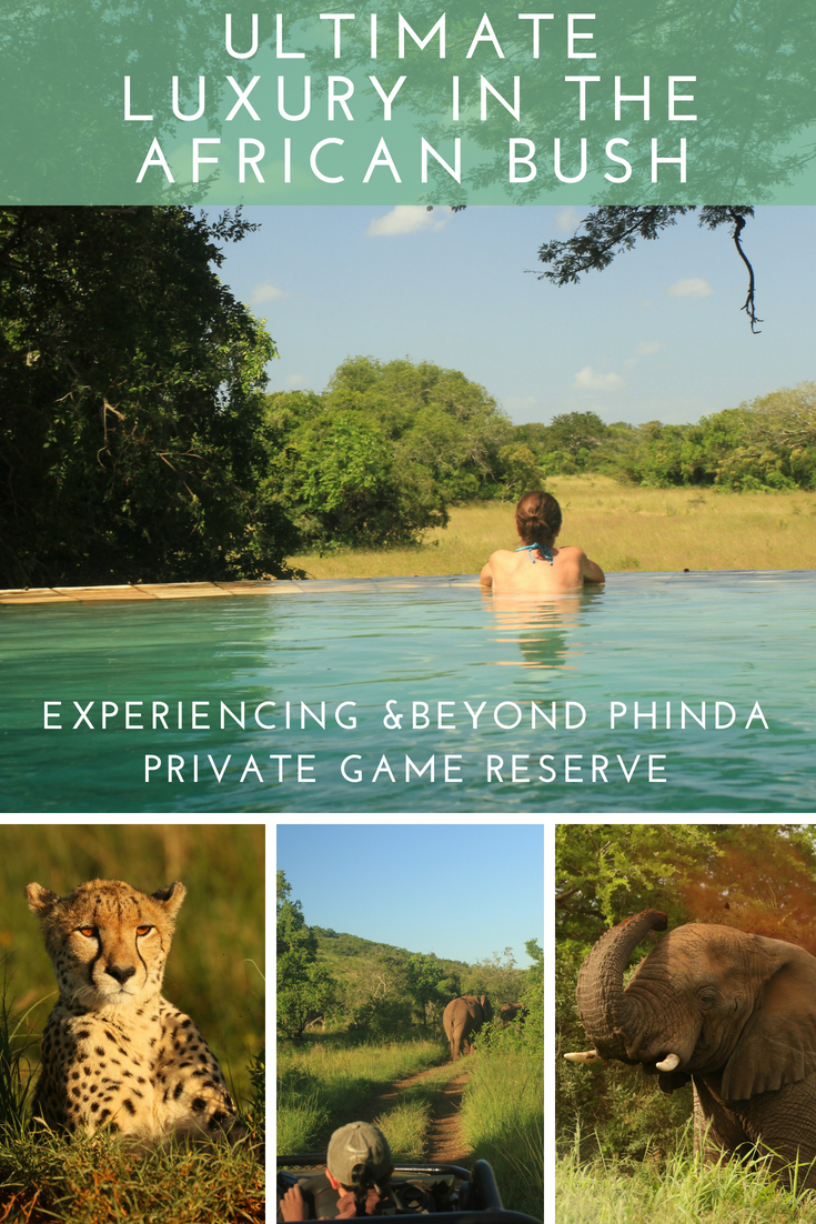 Pin referring to the ultimate luxury in the African bush article.