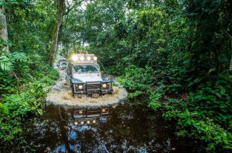 A Kingsley Holgate expedition across Africa, photo by the Kingsley Holgate Foundation