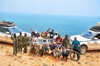 Another world first Land Rover success: getting to the easternmost point of the African continent, photo by the Kingsley Holgate Foundation