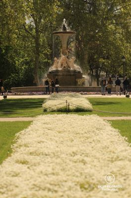 The Buen Retiro Park, Madrid, Spain