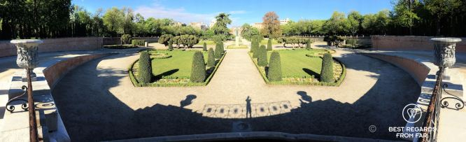 The Buen Retiro Park, Madrid, Spain