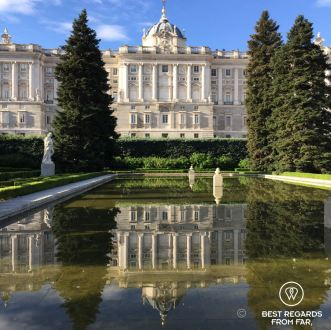 Running the royal park to the river banks, Madrid, Spain