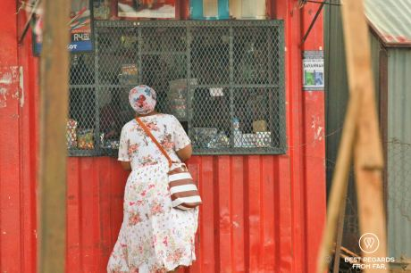 Local container store, Soweto, South Africa