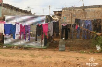 The streets of Soweto, South Africa