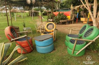 Garden of Lebo's tours and backpackers, Soweto, South Africa