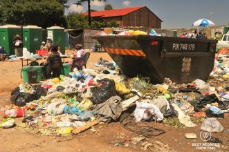 Monthly market in Roodepoort, Soweto, South Africa