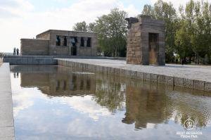 Temple of Debod - Madrid - Spain