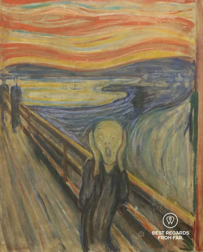 The scream by Edvard Munch, National Gallery, Oslo, Norway