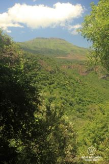 One of the three mountain tops shaping the Hogsback, South Africa