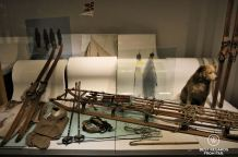 Amundsen's gear for the South Pole Expedition, The Holmenkollen Ski Museum, Oslo, Norway