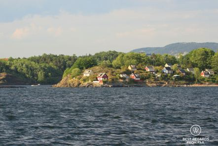Bleikoya Island in the Oslo Fjord, Oslo, Norway