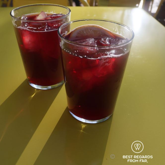 The tinto de verano, Madrid, Spain