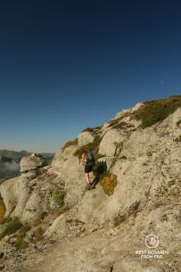 Ridgeline on Stage 12 of the GR 20, Corsica, France