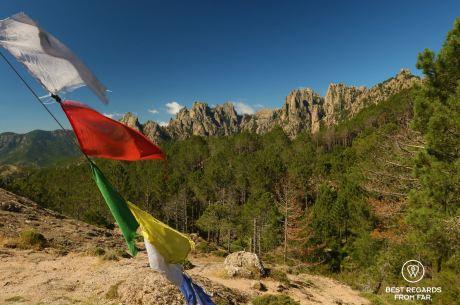 The refuge of Paliri, GR 20, Corsica